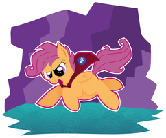 MLP: ScootaFLOP! by giantsquidie