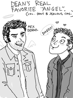 JOHN WINCHESTER by thehaydenclone