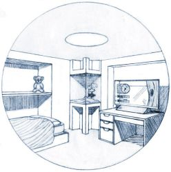 Bedroom of tomorrow by Dyl-Rob