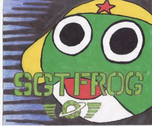 Sgt. Frog Art by naturallydrawing