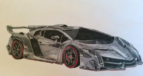Lamborghini gift (messed) by AkiraSparkles