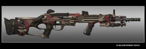 Action Custom G-12 Battle Rifle by BlackDonner