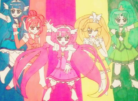 Glitter Force by Destiny1234567
