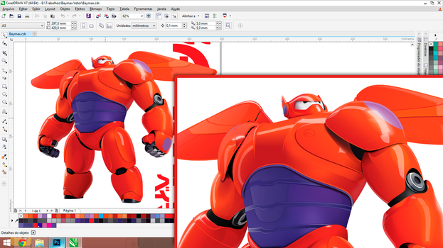 Baymax Vector by H8orSaints