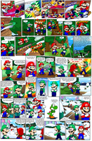 Super Mario Bros page 55 by Nintendrawer