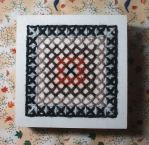 Simple little box embroidery. by Magical525