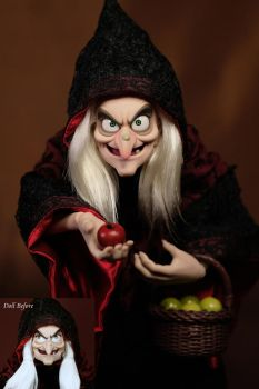 Witch OOAK doll by RYfactory