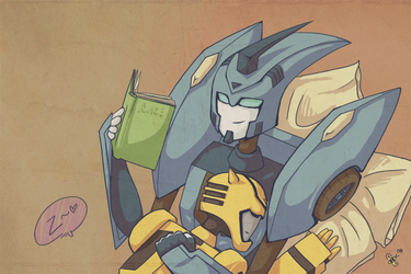 The Bee and the Blurr by Humblebot