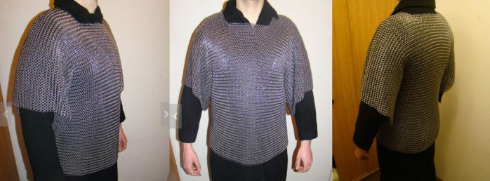 Chainmail armour (for sale) by Szymoonio