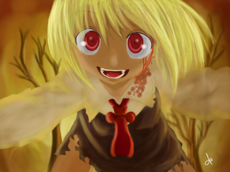 Are you NUTS  Rumia by Wyllhell