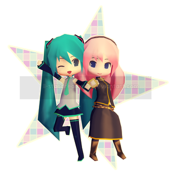 ~Vocaloid|Miku And Luka~ by ll-StarDreameR-ll