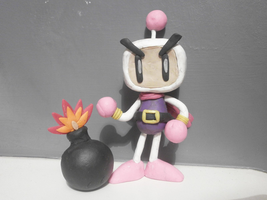 Bomberman (Rough Model) by FierceTheBandit