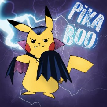 PIKA BOO! by hope30789