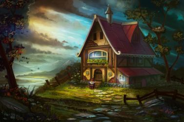 My house by lepyoshka