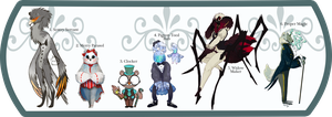 Dapper and Proper Taum Squad Action [closed] by Happy-sorry