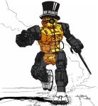 Mr Peanut Commando by BishopSteiner
