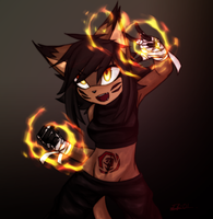 Fire Kid by ER-01