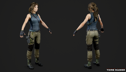 Shadow of the Tomb Raider - Lara Tactical by Crazy31139