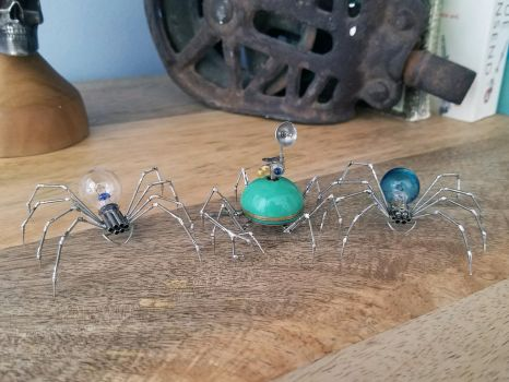 Tach Parts Spiders Nos 88, Scout and 89 by AMechanicalMind