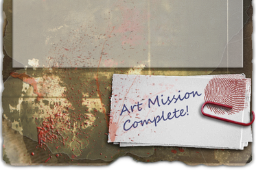 Art Mission Survivor Footer II by KissBite