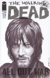 Daryl Dixon Walking Dead sketch cover by shinlyle