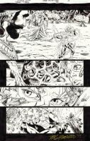 TEEN TITAN #95 Pg 5 - KID FLASH Gets Bugged! $50 by DRHazlewood