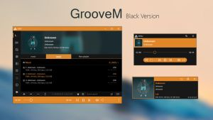GrooveM (Black) by amdpastrana