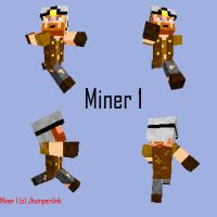 Minecraft Miner v.1 skin by Jhumperdink