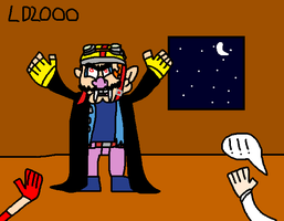 TNOH: Wario the Vampire by Luqmandeviantart2000