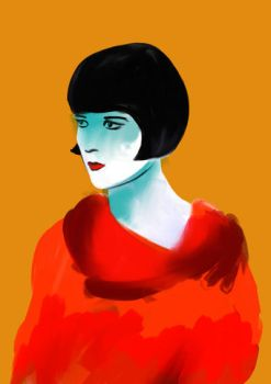 Louise Brooks by owlfactory