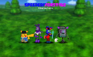 SpeedEditorsTale Characters by WitheredChica125