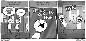 Happy Jar - The Kung Fu Effect by tomfonder