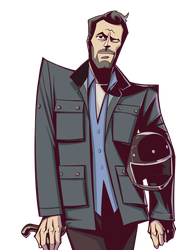 PV Series House M.D  Dr. Gregory House by woshibbdou