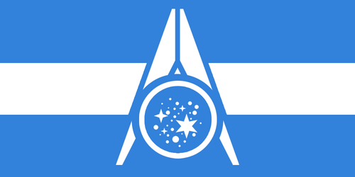 Flag of the United Galactic Federation [NEW] by RvBOMally