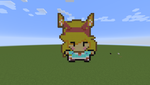 Star Butterfly as a raposa in minecraft by Cutiesaurs