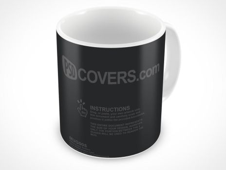 MUG005 by PSDCovers