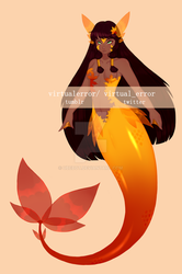 [2/2] Mermaid Adopt [CLOSED] by ubebot