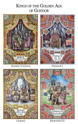 Kings of the Golden Age of Gondor by MatejCadil
