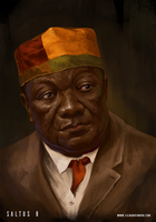 Saltus 8 Founders. Nando Sibanda, Diamond King by Lilia-Anisimova