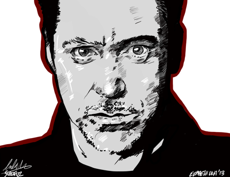 The Sound of Red - Robert Downey Jr by superfizz
