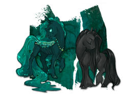 [[pondpony]] | day 30 | kelpie | [CLOSED] by sevenspirals