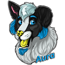 Aura Badge 2 by InuMimi