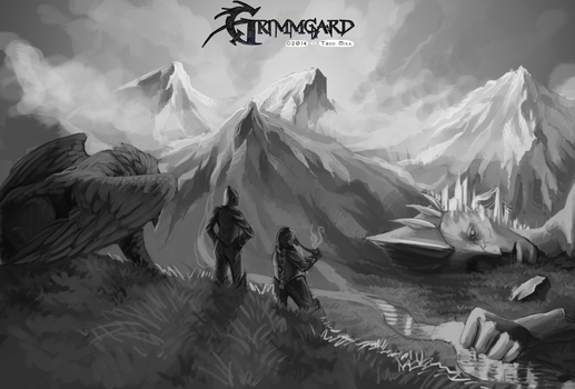 Grimmgard Scene by Frozelz