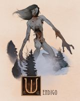 W is for Wendigo by Deimos-Remus