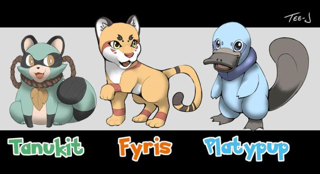 Fakemon by Tee-J