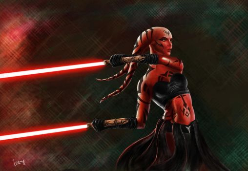 Darth Talon by Lannarty