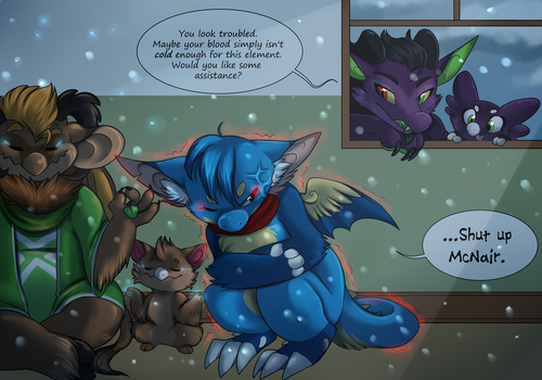 Ice magic: Wrong Temperature by Nestly