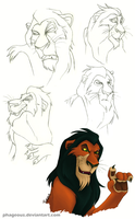 Scar sketchdump by Phageous