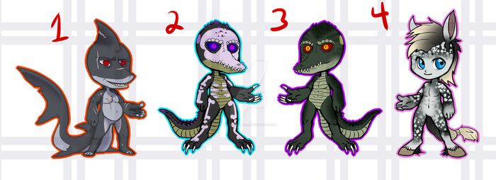 [ADOPTS] $10 Chibi Batch 2 [4/4 OPEN] by kankurosdoll