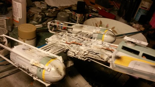 1/72 scale Y-wing 3 by THE-WHITE-TIGER